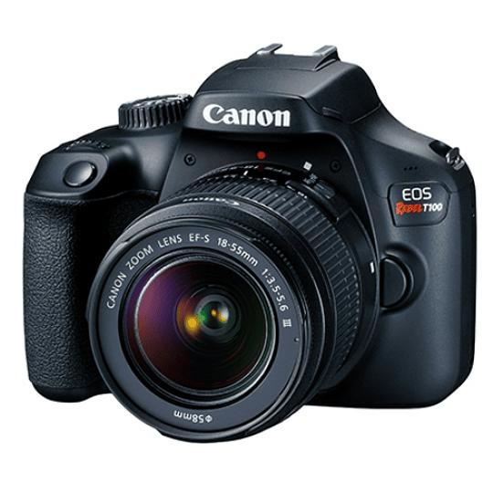 CANON EOS REBEL T100 EF-S 18-55MM F/3.5-5.6 III  - Image 1