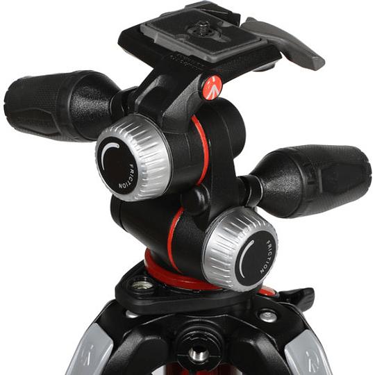 Manfrotto MK055XPRO3-3W trípode de aluminio con 3-vías - Image 5