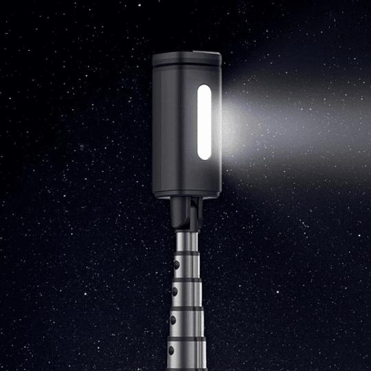 Dispho WS-18016 Selfie Stick Con Luz Led y Disparador Bluetooth - Image 4