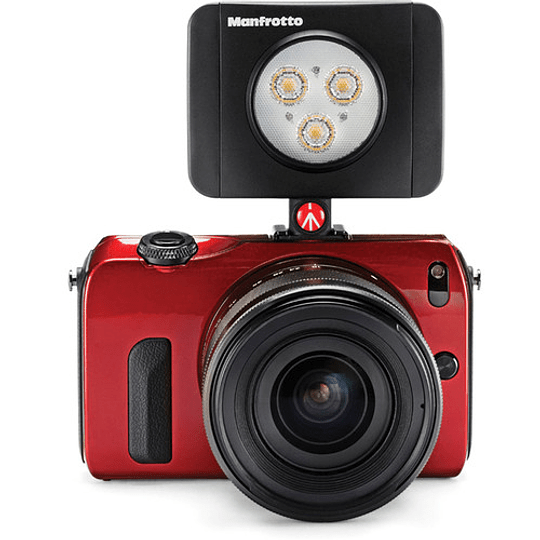 Manfrotto Lumie Play On-Camera LED 3  Light (Black) - Image 2