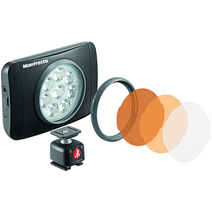 Manfrotto Lumie Muse On-Camera 8 LED Light (Black)