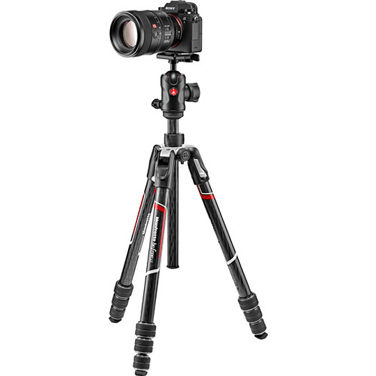 Manfrotto Befree GT Travel Aluminum Ball Head (Black) Manfrotto - Image 7