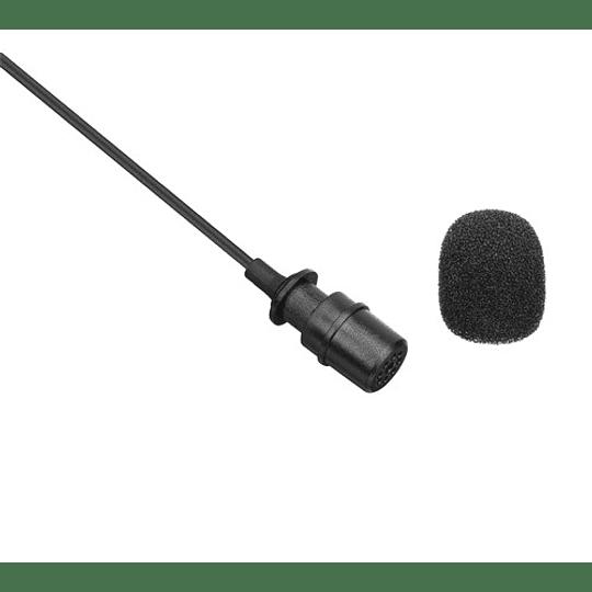 Boya BY-M1-PRO Microfono Lavalier Universal con Monitoreo - Image 3