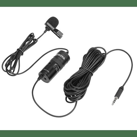 Boya BY-M1-PRO Microfono Lavalier Universal con Monitoreo - Image 4