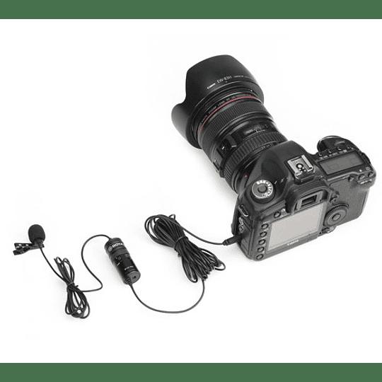 Boya BY-M1-PRO Microfono Lavalier Universal con Monitoreo - Image 5
