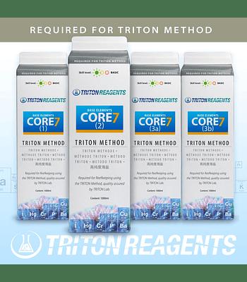 Core 7 Base Elements 4 x 1 litro (Método Triton)
