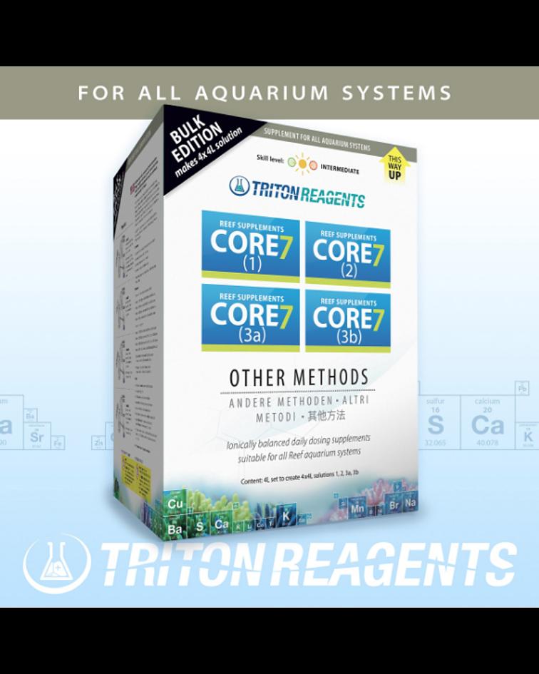 Core 7 Reef Supplements Bulk Edition 4 x 4 litro (Otros Métodos)