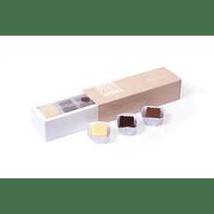 Caja de chocolates sin azúcar mixta. $11.990