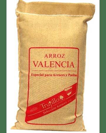 Arroz Valencia Trujillo - saco de 1 kg.