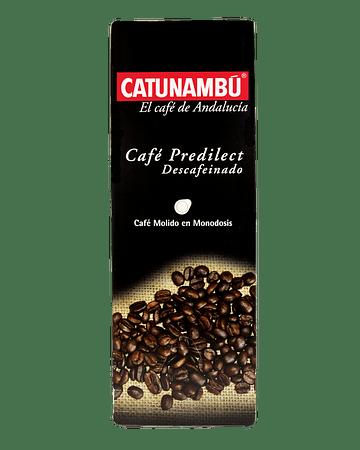 Café Catunambú Monodosis Predilect Descafeinado - 25 ud.