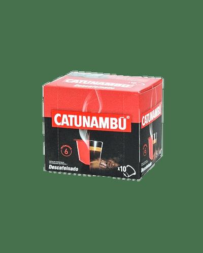 Café Catunambú Capsula Descafeinado compatible (Nespresso) - 10 ud.