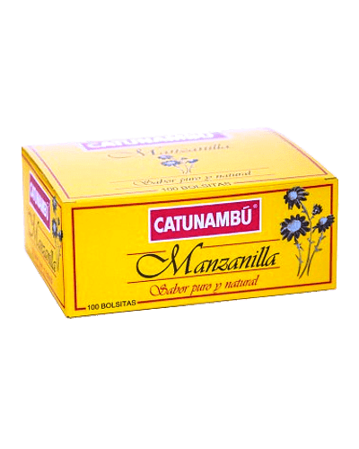 Catunambú Té Manzanilla - 100 ud.