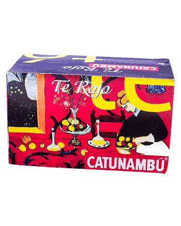 Catunambú Té Rojo - 25 ud.