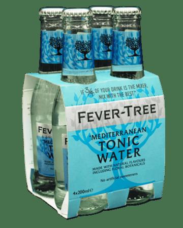 Fever Tree Mediterranean Tonic – Pack 4 botellas de 200 ml.