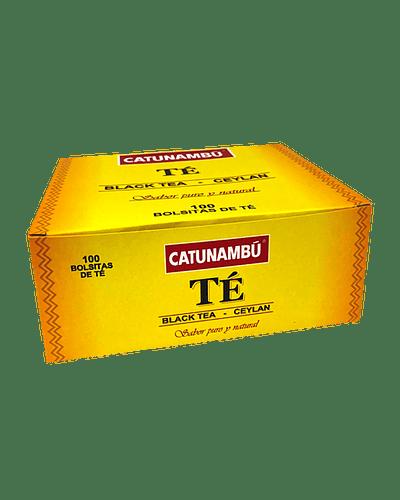 Catunambú Té Negro Ceylán - 100 ud.