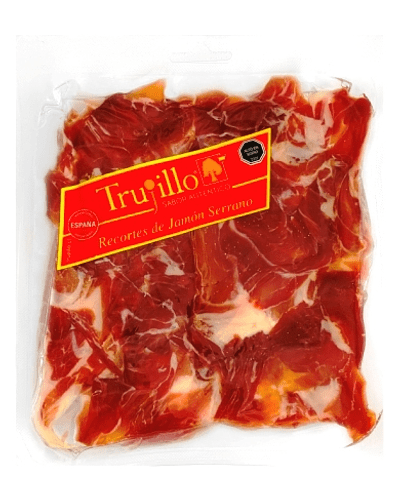 Recortes de Jamón Serrano Et. Roja - 500 g.