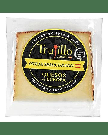 Queso Oveja Semicurado (3-6M) Trujillo - Cuña 150 g.