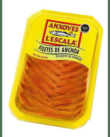 Terrina de Anchoas en Aceite L'Escala - 700 gr. neto /500 g. escurrido