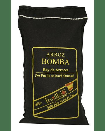 Arroz Bomba Trujillo - saco de 1 kg.
