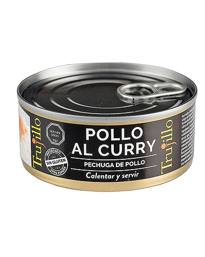 Pollo al Curry Trujillo - Lata 150 g.