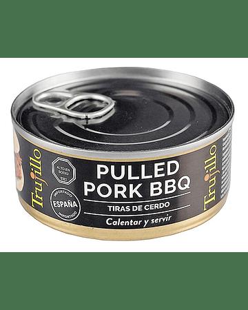 Pulled Pork BBQ tiras de cerdo - Lata 150 g.