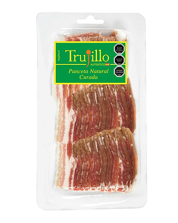 Panceta Natural Curada Trujillo - 180 g.