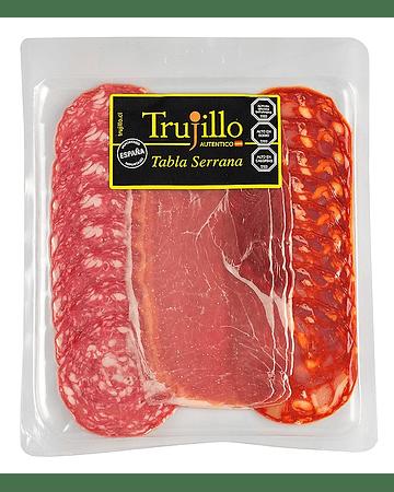 Tabla Serrana Trujillo - 120 g. (Chorizo Vela, Salchichón Vela, Jamón Serrano)