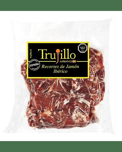 Recortes Jamón Ibérico de Cebo Trujillo Et. Negra - 500 g.