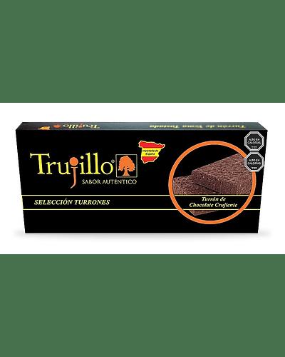 Turrón de Chocolate Crujiente Trujillo - 200 g.