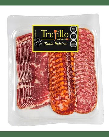 Tabla Ibérica Trujillo - 120 g. (Jamón Ibérico - Chorizo Ibérico - Salchichón Ibérico)