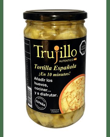 Preparado de Tortilla Española Trujillo - vidrio 535 g.