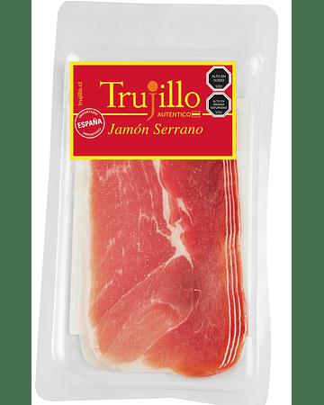 Jamón Serrano Trujillo Et. Roja - 80 g.