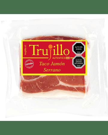 Taco Jamón Serrano Trujillo Et. Roja - 350 g.