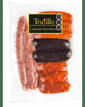Surtido Parrillero Trujillo - 1 kg. (Chorizo Riojano, Longaniza Parrillera, Morcilla de Arroz)