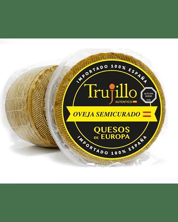 Queso Oveja Semicurado (3-6M) Trujillo - Pieza 3 kg. aprox.