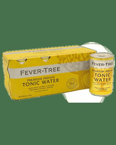 Fever Tree Indian Tonic - Pack 8 latas de 150 ml.