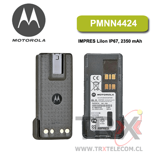PMNN4424 IMPRES 2300 mAh Li-Ion IS Batería sumergible