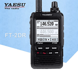 Portatil YAESU 144-430 Mhz dual band digital FT2DR