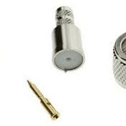 Conector Mini-UHF Macho Crimp Straight, Knurl Amphenol