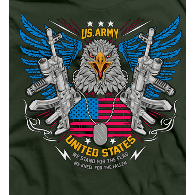 American Eagle Army Flag