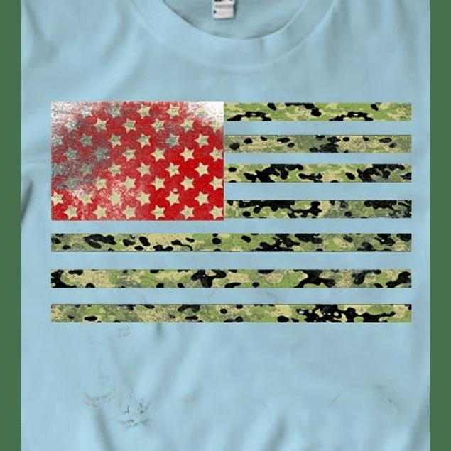 Camo Flag Usa