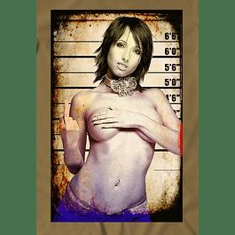 Wall Police Girl