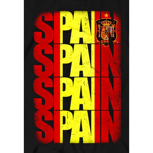Spain Flag Grunge