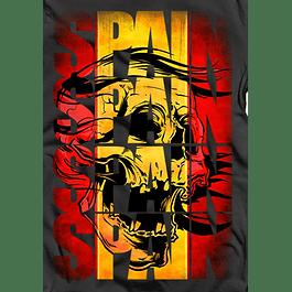 Spain Skull Flag