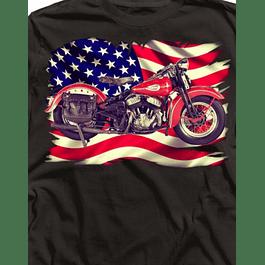 Moto Flag Usa