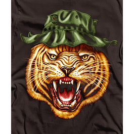 Military Head Tiger
