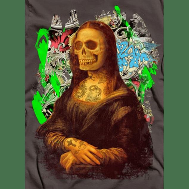 Monalisa Tattoo Skull