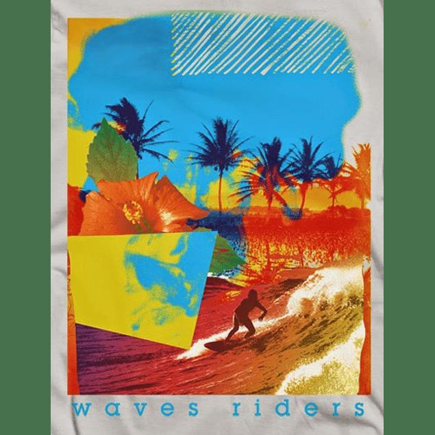 Waves Rider Collage