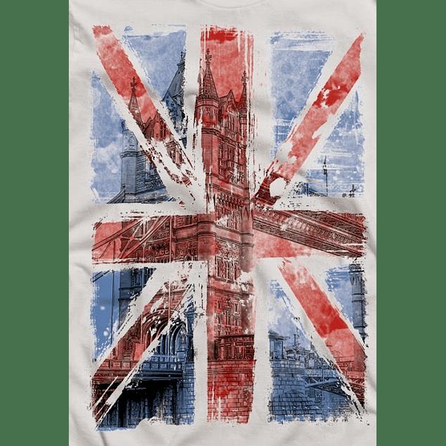 Brithish Grunge Flag