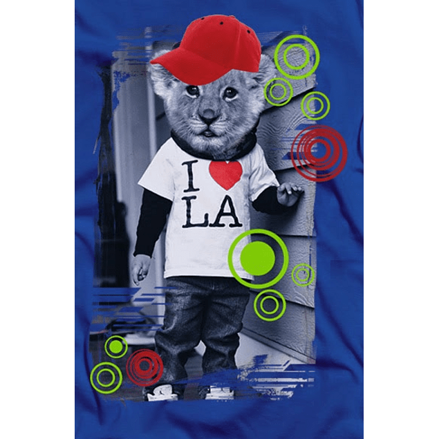 Kid Lion Head Hipster